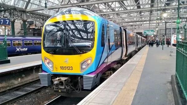 Fotos de Manchester, Transpennine Express