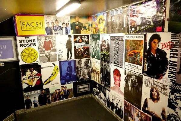 Fotos de Manchester, portadas de discos