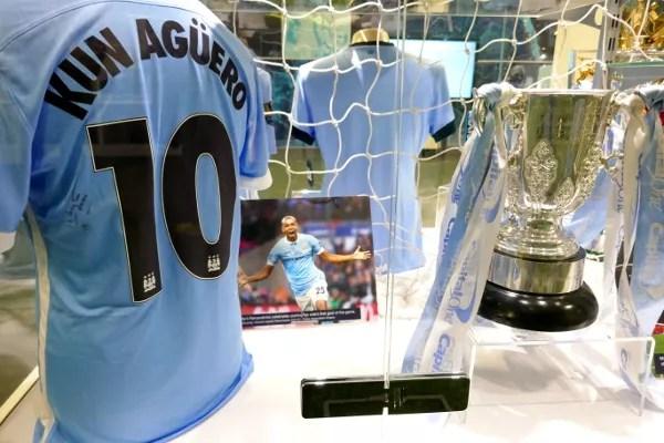 Fotos de Manchester, trofeos Manchester City