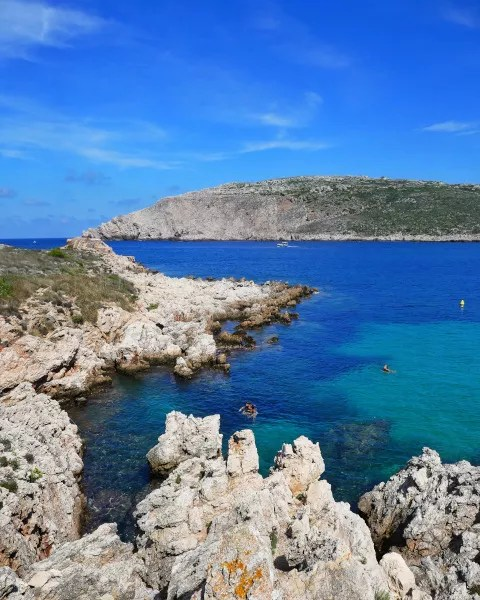 Fotos de Menorca, calas de Fornells