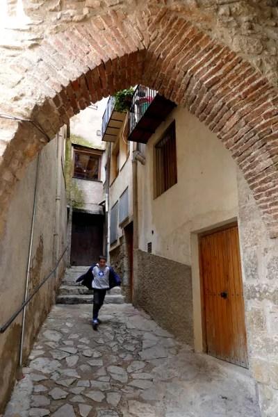 Fotos de Morella, Teo en la juderia