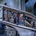 Fotos de Morella, escalera de la Basilica