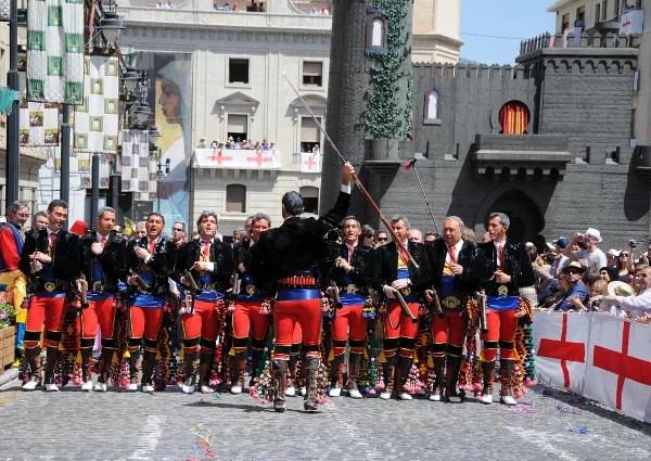 Fotos de Moros y Cristianos de Alcoy, andaluces