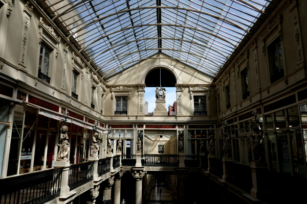 Fotos de Nantes en Francia, Pasaje Pommeraye
