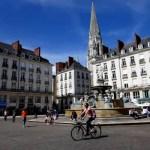 Fotos de Nantes en Francia, fuente place Royale