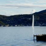 Fotos de Noruega Artica, chorro de Harstad