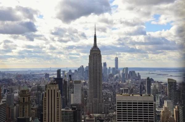 Fotos de Nueva York, Empire Sat Building desde el Top of the Rock