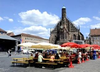 Fotos de Nuremberg, plaza del mercado