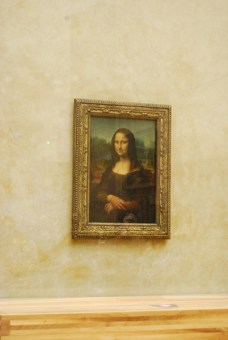 Fotos de Paris, La Gioconda en el Museo del Louvre