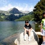 Fotos de Pirineo de Lleida, Teo y Oriol lago en Aiguestortes