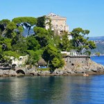 Fotos de Portofino en Italia, mansion y mar