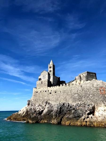 Fotos de Portovenere en Italia, Iglesia de San Pedro