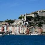 Fotos de Portovenere en Italia desde el mar