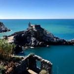 Fotos de Portovenere en Italia, vistas a la Iglesia de San Pedro