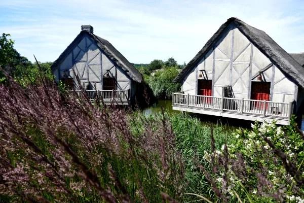 Fotos de Puy du Fou, cabana y lavanda