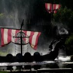 Fotos de Puy du Fou, drakkar vikingo
