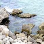 Fotos de Salou, rocas del camino de ronda