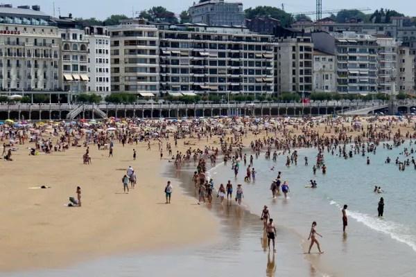 Fotos de San Sebastián, playa de la Concha