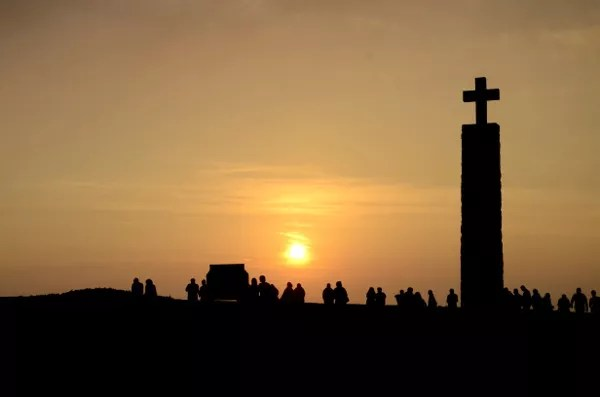 Fotos de Sintra en Portugal, atardecer Cabo da Roca