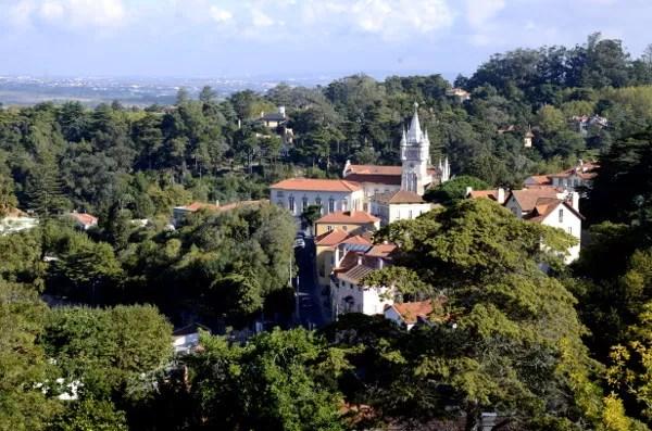 Fotos de Sintra en Portugal, vistas desde el mirador