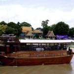Fotos de Tailandia - crucero desde Ayutthaya, barco Thanatharee