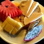 Fotos de Tailandia, desayuno con fruta