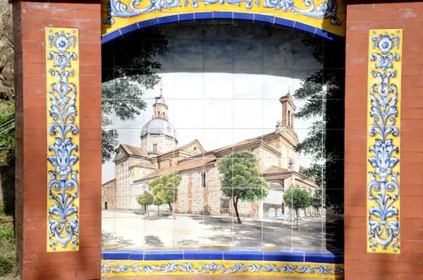 Fotos de Talavera de la Reina, Basilica de Nuestra Señora del Prado en azulejo
