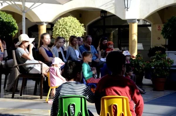 Fotos de Tenerife, Hotel Suite Villa Teo y Oriol espectaculo