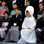 Fotos de Tokio, boda japonesa en el Meiji Jingu