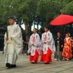 Fotos de Tokio, ceremonia en el Meiji Jingu