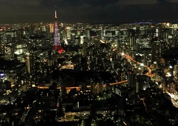 Fotos de Tokio, desde Roppongi