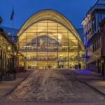 Fotos de Tromso en Laponia Noruega, biblioteca