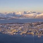 Fotos de Tromso en Laponia Noruega, vista de invierno