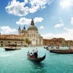 Fotos de Venecia, Gran Canal y Basilica Santa Maria della Salute