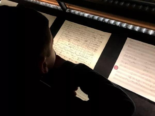 Fotos de Viena en Austria, Teo partituras Casa de la Musica