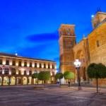 Fotos de Villanueva de los Infantes, Plaza Mayor iluminada