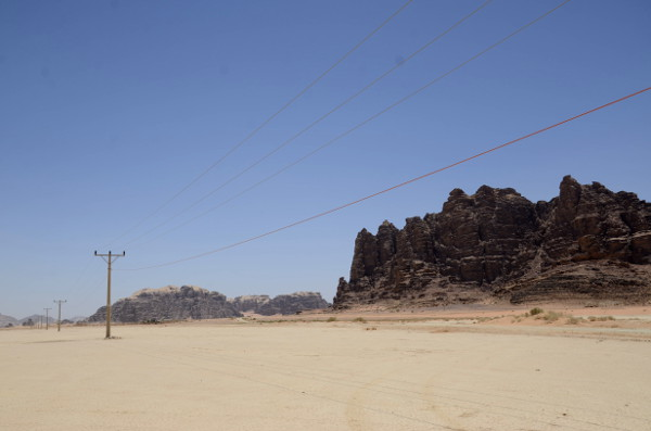 Fotos de Wadi Rum, Jordania - pistas de tierra