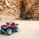 Fotos de Wadi Rum, Jordania - quad en el desierto