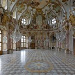 Fotos de la Residencia de Wurzburgo, sala y lamparas
