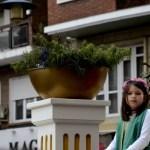 Fotos de las Mondas de Talavera, niña en carroza