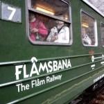 Fotos de los Fiordos Noruegos, el tren de Flam