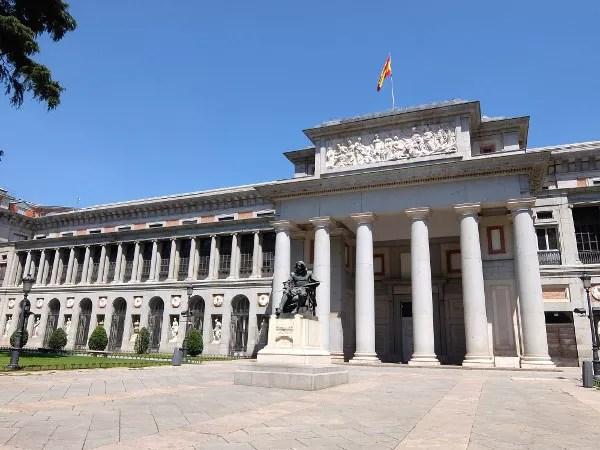 Fotos de los lugares más populares de España, Museo del Prado en Madrid