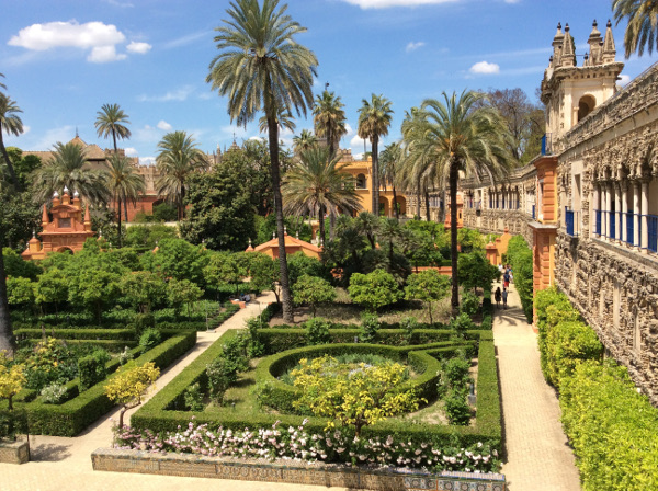 Fotos de los lugares más populares de España, Real Alcazar en Sevilla