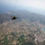 Fotos de saltos en paracaidas en Empuriabrava, caida libre Costa Brava