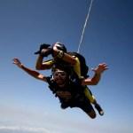 Fotos de saltos en paracaidas en Empuriabrava, punos