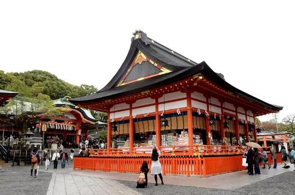 Fotos del Fushimi Inari de Kioto, pabellon