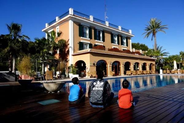 Fotos del Hotel Les Rotes de Dénia, Vero, Teo y Oriol piscina