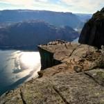 Fotos del Púlpito en los Fiordos Noruegos, gente