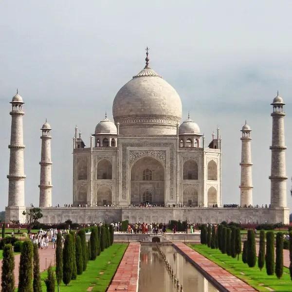 Fotos del Taj Mahal en Agra, India