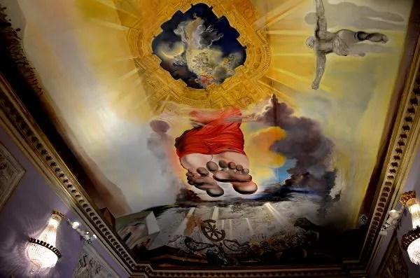 Fotos del Teatro-Museo Dalí de Figueres. Palacio del Viento